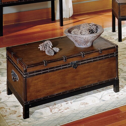 Steve Silver Furniture Voyage Trunk Coffee Table & Reviews