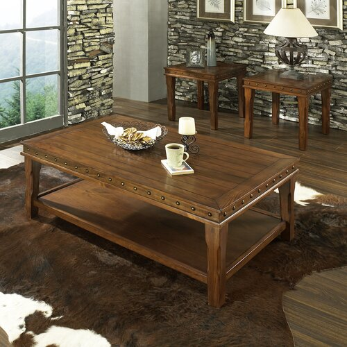Odessa 3 Piece Coffee Table Set