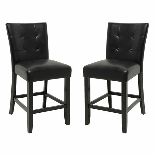 "Steve Silver Furniture Monarch 24"" Parsons Bar Stool"