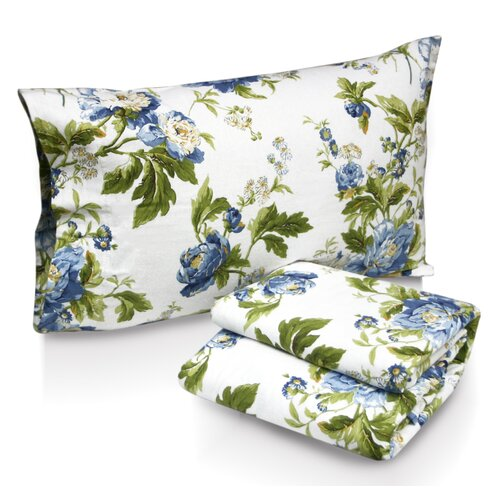 Floral Bouquet Printed Sheet Set