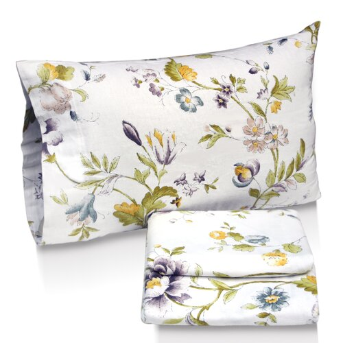 Flower Park Printed Sheet Set