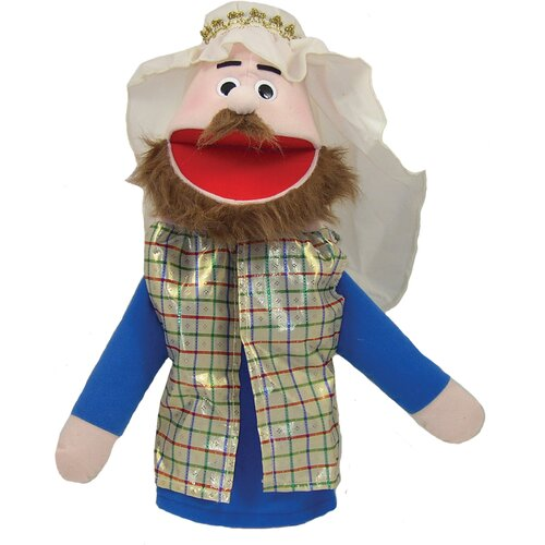 "Get Ready Kids 16"" Bible Rich Man Puppet"