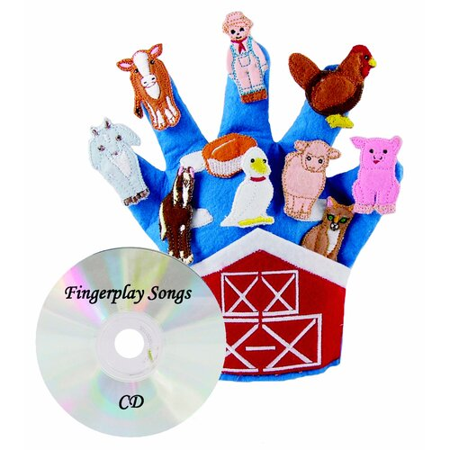Get Ready Kids Old MacDonald's Farm Storytelling Glove Puppet