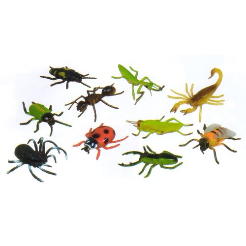 Insects Play Set (Set of 10)