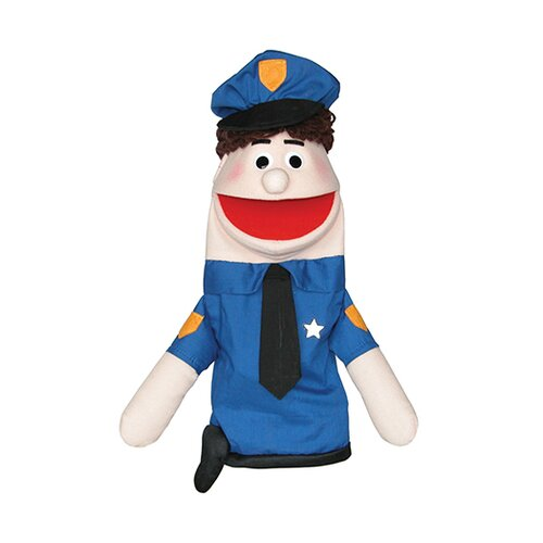 Half Body Character Puppets Officer