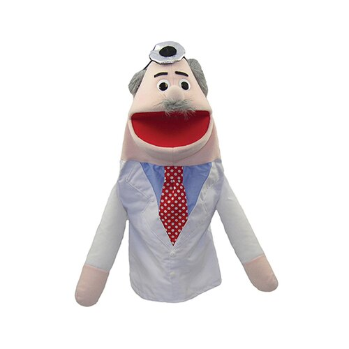 Get Ready Kids Half Body Character Puppets Doctor