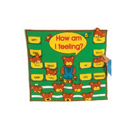 Get Ready Kids How Am I Feeling Fabric Chart