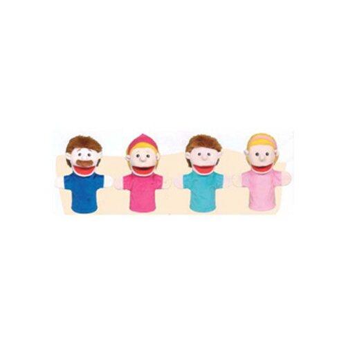 Family Bigmouth Puppets Caucasian