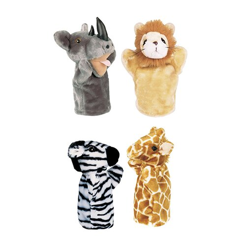 Get Ready Kids Zoo Puppet Set I Includes Rhino