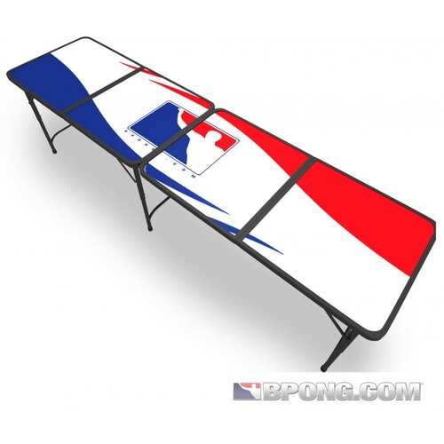 BPONG Official Beer Pong Table in White