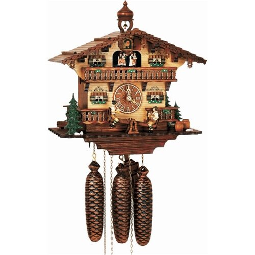 Musical Chalet Cuckoo Wall Clock