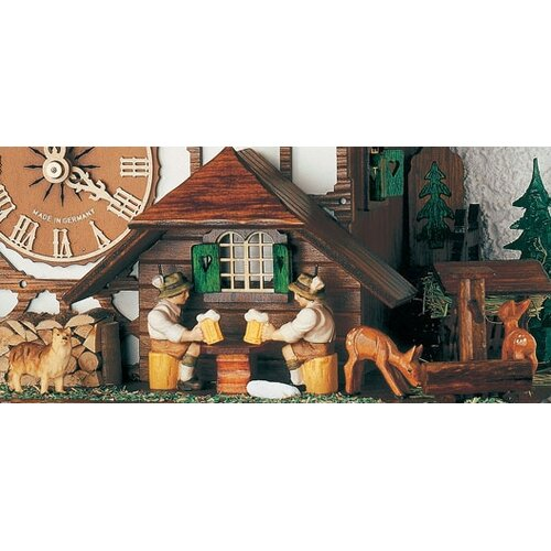 Schneider Forest Chalet Wall Clock