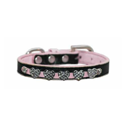 Hip Doggie Diamond Heart Dog Collar