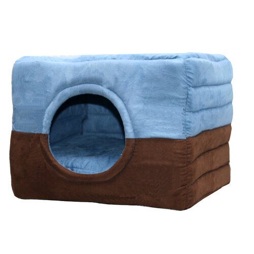 Hip Doggie Safe House 2 in 1 Dog and Cat Bed