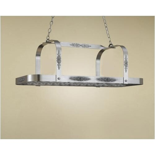Hi-Lite Monterey Rectangular Hanging Pot Rack