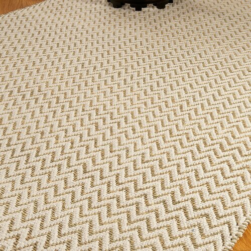 Jute White / Beige Roadhouse Rug