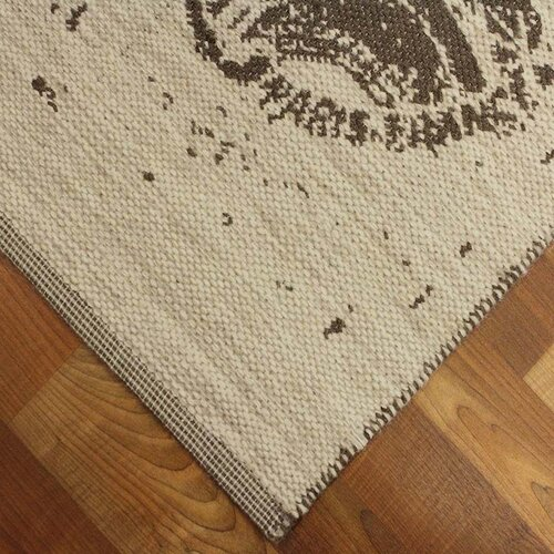 Natural Area Rugs Country Stamp Print Rug