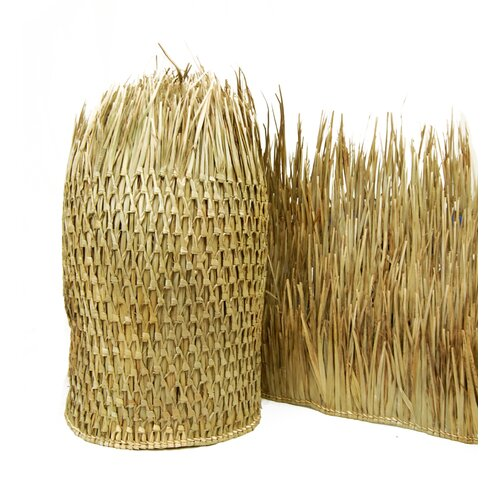 Backyard X-Scapes Mexican 2.5' x 8' Thatch Runner Roll