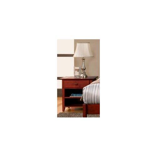 Alpine Furniture Portola 1 Drawer Nightstand