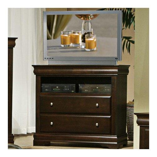 Alpine Furniture Chesapeake 2 Drawer TV Media Chest
