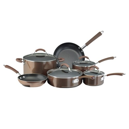 Farberware Millennium 12-Piece Porcelain Nonstick Cookware Set