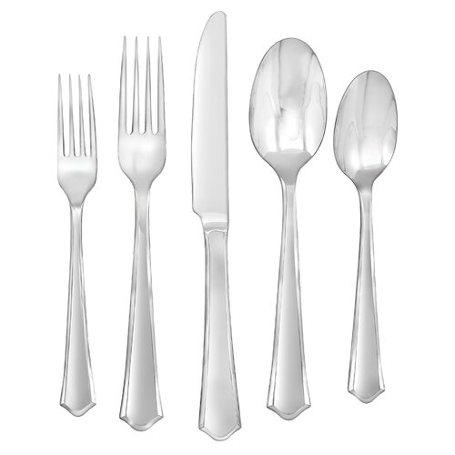 Barberry 45-Piece Flatware Set