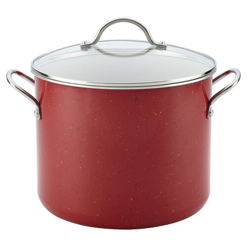 New Traditions 12-qt. Covered Stockpot with Lid