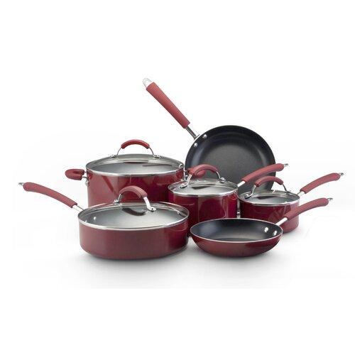 Millennium Nonstick Aluminum 12-Piece Cookware Set