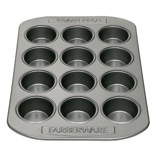 Nonstick Carbon Steel 12-Cup Mini Muffin Pan