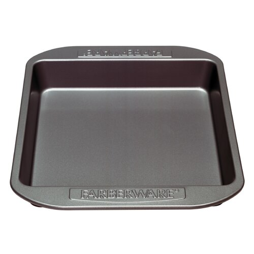 "Farberware Nonstick Carbon Steel 9"" Square Cake Pan"