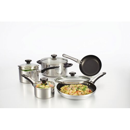 Farberware High Performance Stainless Steel 12-Piece Cookware Set