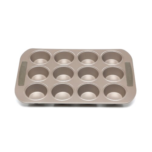 Farberware Soft Touch Bakeware Nonstick Carbon Steel 12 Cup Muffin Pan