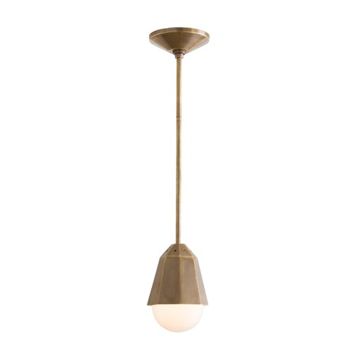 Tresor 1 Light Octagonal Mini Pendant