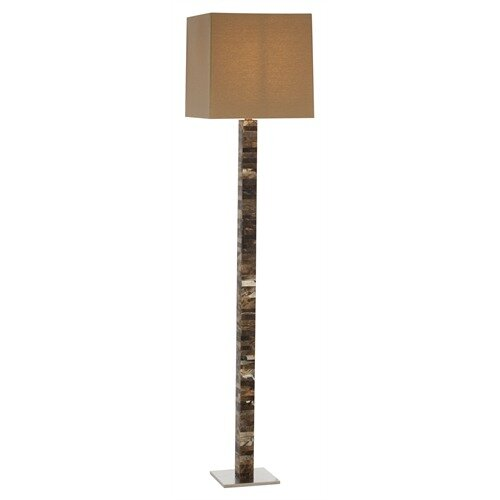 ARTERIORS Home Fonda Faux Horn / Steel Floor Lamp