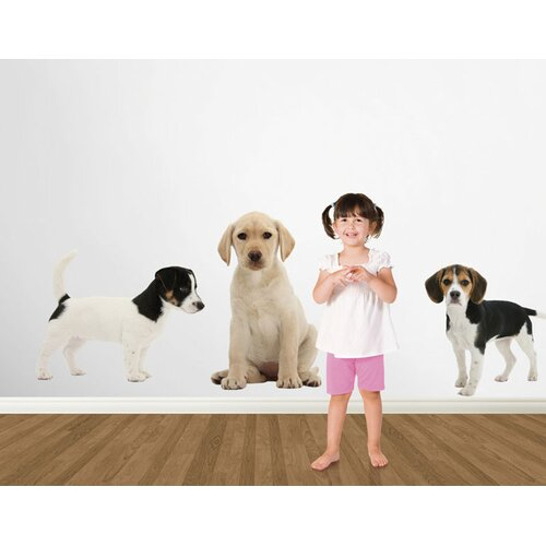 4 Walls Puppy Love Jack Russell Terrier Wall Decal