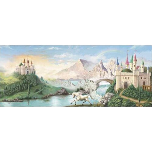 4 Walls Enchanted Kingdom Castle Wall Mural