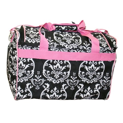 "Jenni Chan Damask 18"" City Travel Duffel"