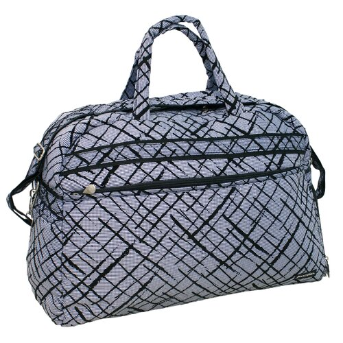 "Jenni Chan Brush Strokes 20"" Gym Duffel"