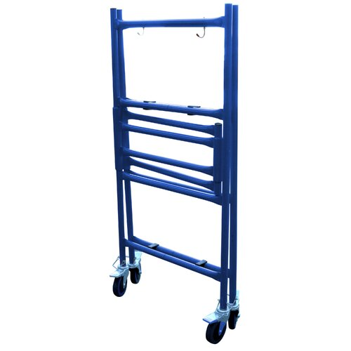 Buffalo Tools 4' H x 4' W x 1' D Pro-Series Roll and Fold Mini Scaffolding