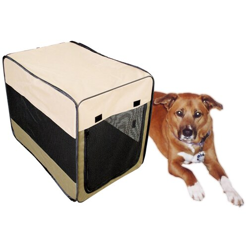 Buffalo Tools Soft Sided Steel and Cloth Portable Yard Kennel