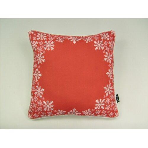 lava Lava Snowflake Border Pillow