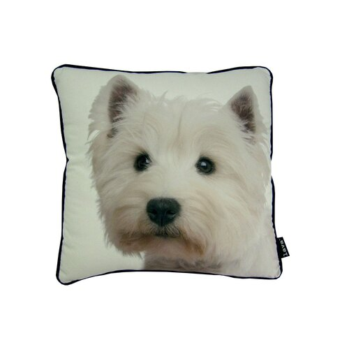 lava Westie Pillow