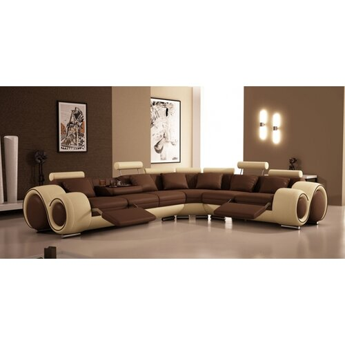 Hokku Designs Hematite Sectional
