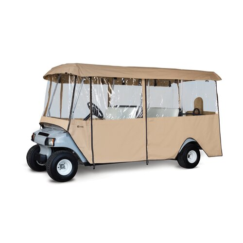 Classic Accessories Deluxe Golf Car Enclosure