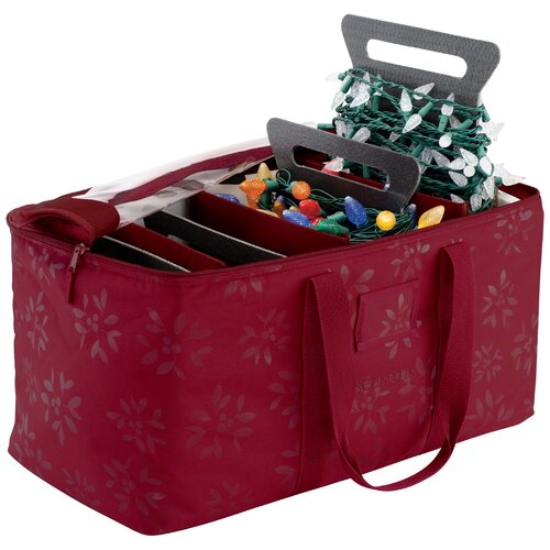 Classic Accessories Holiday Lights Storage Duffel