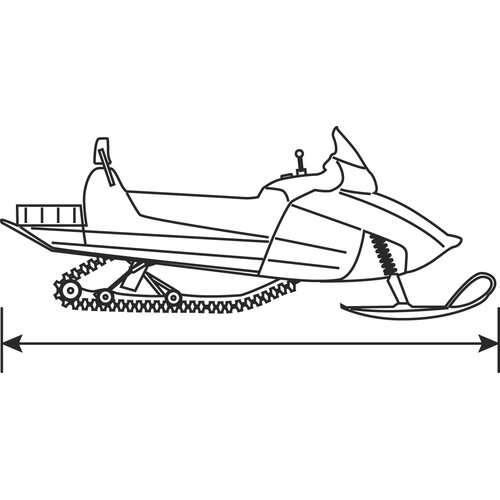 Classic Accessories SledGear Deluxe Snowmobile Travel Cover