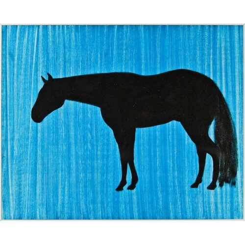 Horse Silhouette Wall Art Horse Silhouette Graphic Art