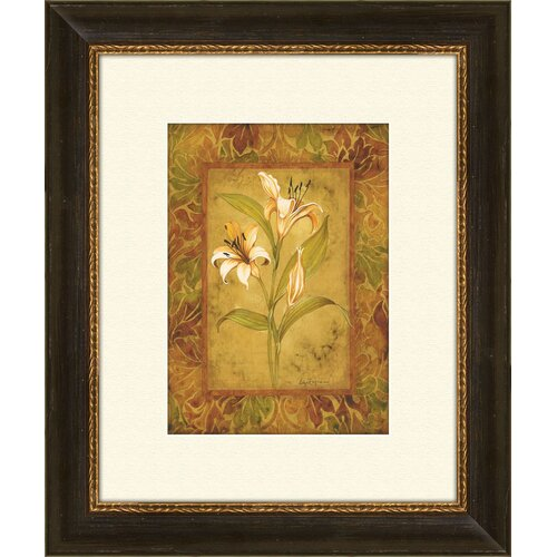 Pro Tour Memorabilia Garden Lilies A Framed Graphic Art