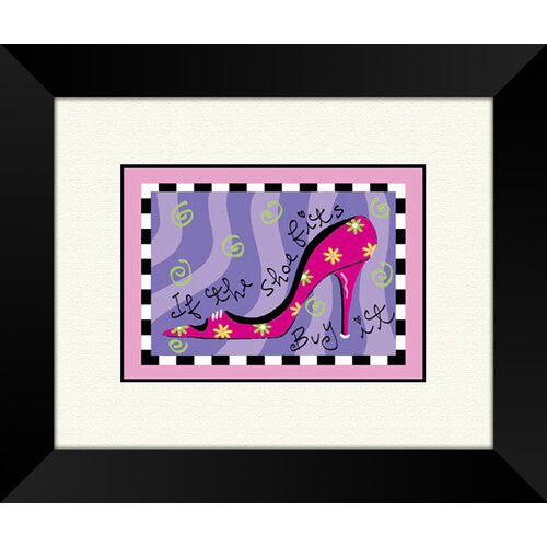 Pro Tour Memorabilia The Shoe Fits B Framed Graphic Art