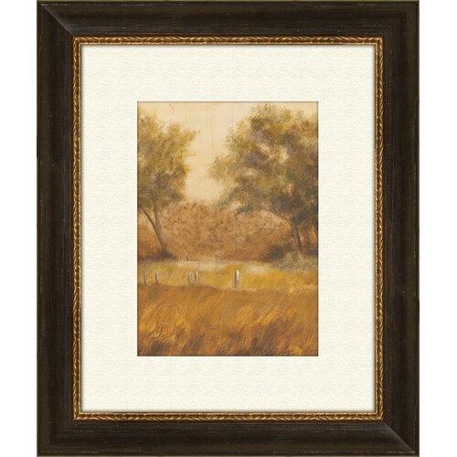 Pro Tour Memorabilia Traveled Path A Framed Painting Print